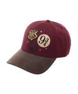 Harry Potter 'Platform 9 3/4 & Hogwarts Crest' Embroidered Faux Leather ... - $11.88