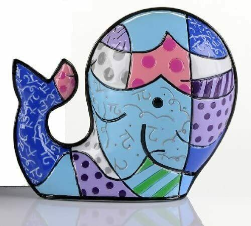 Romero Britto Mini Whale Figurine  #331844