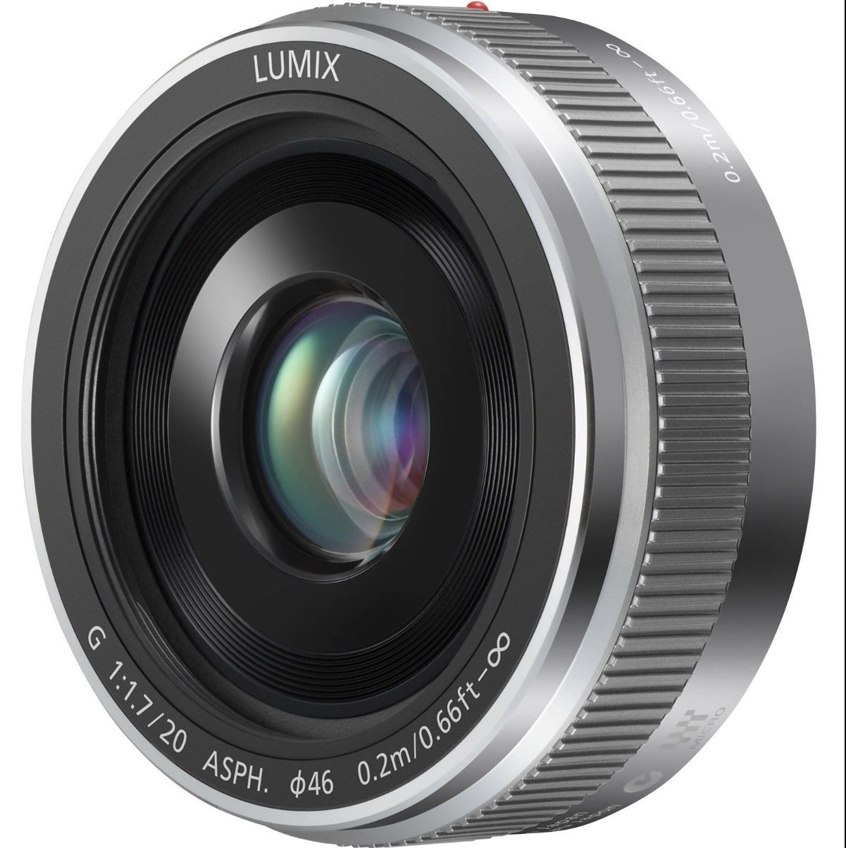 PANASONIC Lumix G 20mm/F1.7 II ASPH H-H020A-S Silver NEW