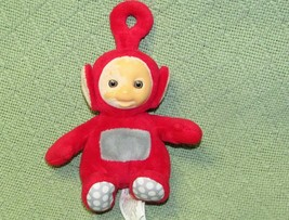 """Teletubbies Po Plush Spin Master Doll Stuffed Animal 7"""" Red Flocked Face Toy - $6.53"""