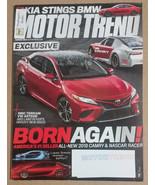 Motor Trend  Magazine (March 2017) KIA Stings BMW - $4.50