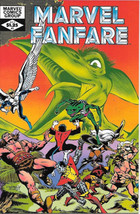 Marvel Fanfare Comic Book #3 Marvel Comics 1982 Very Fine+ Unread - $4.50