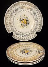 Yellow Rose Cunningham & Pickett Homer Laughlin (3) Bread Plate 1 Bowl G... - $39.59