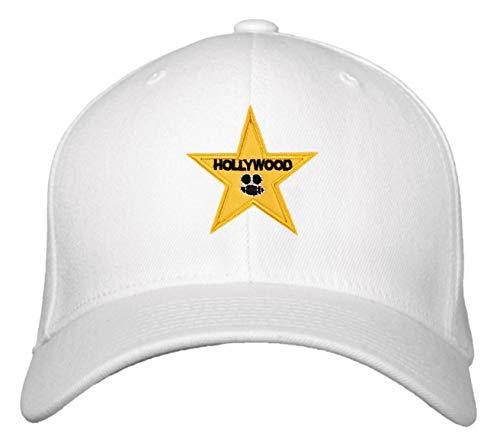 Hollywood Star Hat - Adjustable Cap (White)