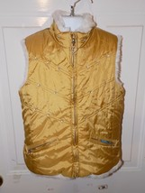 The Children's PLACE Gold Reversible Vest Size S (5/6) Girl's EUC - $19.20