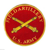 "ARMY FIELD ARTILLERY 4"" EMBROIDERED MILITARY BRANCH PATCH - $18.04"