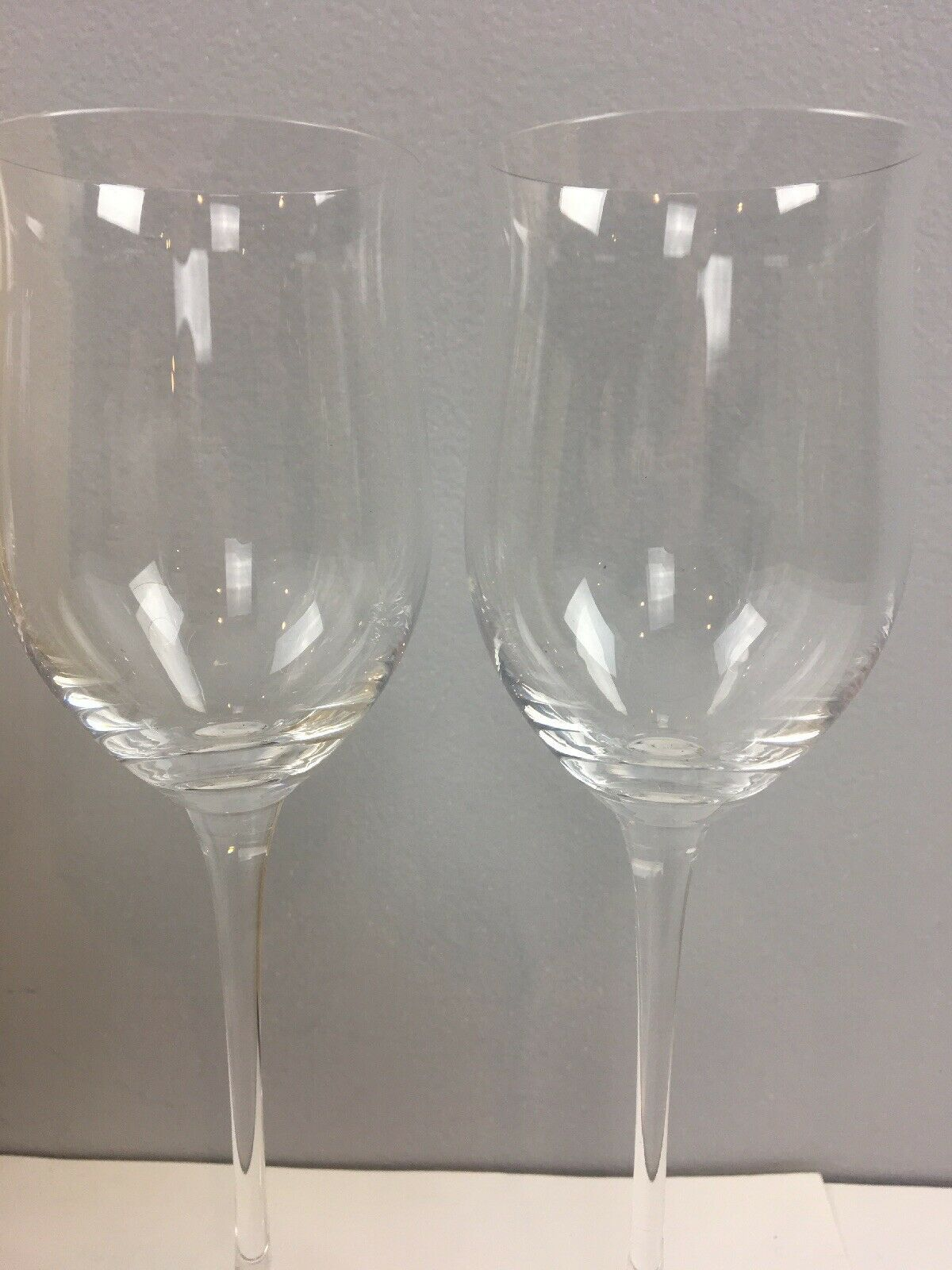 Lenox Tuscany Classics Collection 3x White Wine Glasses Orig Box Replacement image 2