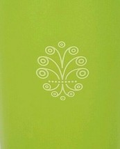 Tupperware Canister with Lid Large Green Vintage - $13.05