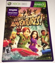 Kinect Adventures Xbox 360 Game 55K - $9.49