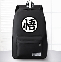 Dragon Ball Goku Symbol Awesome Design School Backpack Black - $59.90