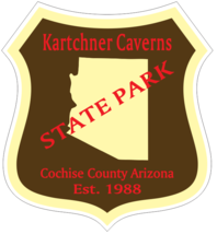 Kartchner Caverns Arizona State Park Sticker R6965 - $1.45+