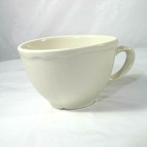 Homer Laughlin Best Restaurant Ware Flat Coffee Tea Cup China White 2.75 inch - $12.86