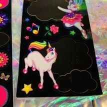 HTF Sticker Sheets Lisa Frank Dream Writers Yin Yang Unicorn 1isCOMPLETE &MINT-y image 2