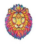 """Unidragon Wooden Jigsaw Puzzles """"Mysterious Lion"""" Wooden Puzzles Animals... - $89.99"""