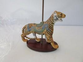 Franklin Mint Treasury Of Carousel Art Tiger Mint William Manns - $9.85