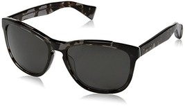Cole Haan Men's Ch6004s Square Sunglasses, Black Tortoise, 57 mm - $100.95