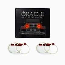Oracle Lighting CH-SO1112-A - Chevrolet Sonic LED Halo Headlight Rings - Amber - $174.60
