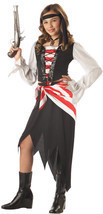 NEW Ruby The Pirate Beauty Child Costume by California Costumes , M (8-10) - £18.80 GBP
