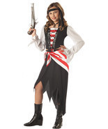 NEW Ruby The Pirate Beauty Child Costume by California Costumes , M (8-10) - £18.92 GBP