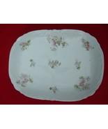 Serving Meat Platter Victoria Carlsbad Austria White Porcelain Vintage 1... - $19.75