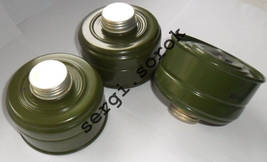 Ussr Russian Gas Mask Filter Canister GP-5k 40mm with gas mask box for g... - $10.99