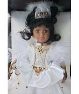 "1999 Camellia Garden Brass Key Collection 16"" African American Porcelain... - $249.99"