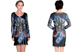 Goku- Dragon- Ball- Super Women's Long Sleeve Night Dress - $23.80+