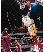 Jermaine O'Neal Indiana Pacers signed basketball 8x10 photo COA - $64.99