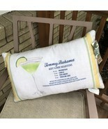 Tommy Bahama Outdoor Patio Lawn Throw Pillow Key Lime Martini Cocktails NWT - $39.60