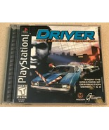 Driver (PlayStation 1, 1999) PS1 Game Complete - $9.99