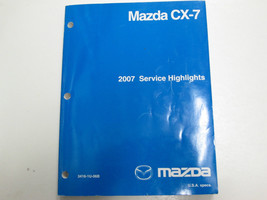 2007 Mazda CX-7 CX7 Service Highlights Manual Factory Oem Book 07 - $79.19
