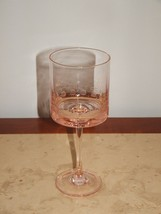 "DISCONTINUED REPLACEMENT PIECE Mikasa  pink  8.25"" Wine Glass - $16.33"