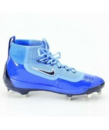 Nike Air Huarache Mens 2KFILTH Elite Mid Metal Baseball Cleats Blue Size... - $91.19