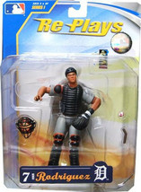 Ivan Pudge Rodriguez Detroit Tigers Re Plays MLB Action Figure NIB NIP N... - $18.55