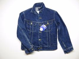 VTG Kid's Lee's Denim Rider Jacket Size 16 Button Up Jacket 100% Cotton - $26.10
