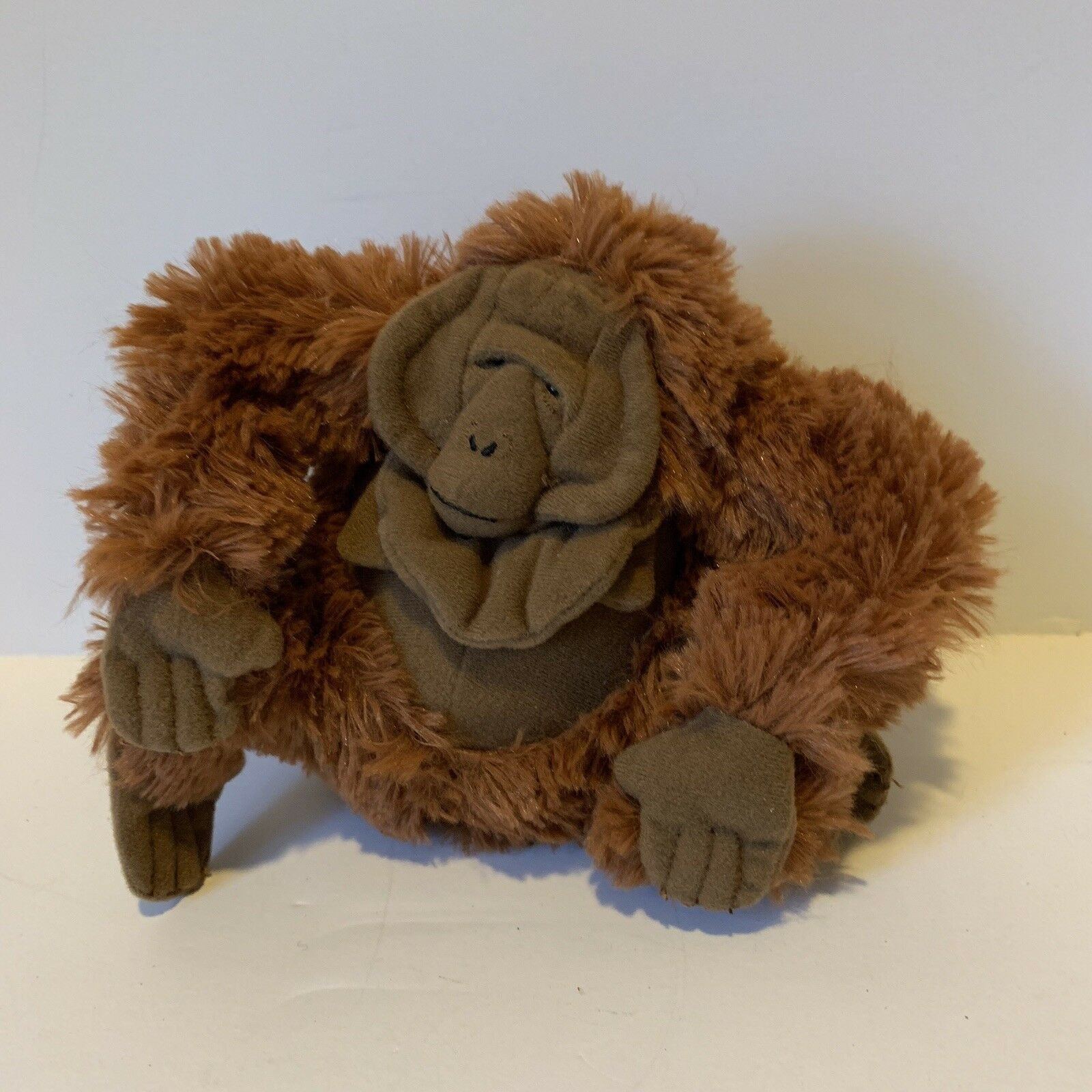"Disney Jungle Book King Louie Bean Plush 6"" Stuffed Animal Ape Monkey Soft Toy"