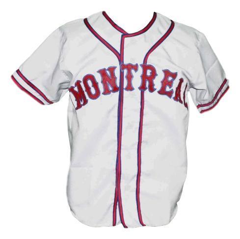 Montreal royals retro baseball jersey 1946 white   1