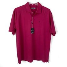 Callaway Golf Polo Mens XL New With Tags Moisture Wicking Raspberry - $26.99