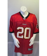 Tampa Bay Buccaneers Jersey - Ronde Barber # 20 - NFL Official By Reebok... - $149.00