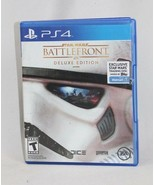 Star Wars Battlefront Deluxe Edition (PS4) WALMART Complete w/ Trading Disk - $16.82