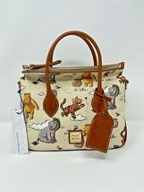 Disney Dooney & and Bourke Winnie the Pooh Satchel Bag Purse Eeyore Tigg... - $395.99