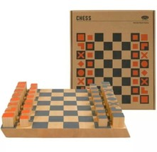 Wild Wood of Wild & Wolf Chess Wooden Board Game - $32.71
