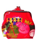 Adorable PEPPA PIG Children's Coin Purse— More Fun Character Coin Purses... - $5.00