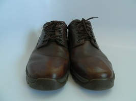 Rockport XCS Hydro-Shield Mens Brown Leather Upper Oxford Shoes Size 11M - $33.99