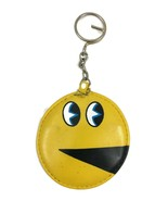 Vintage PAC-MAN 1980 KEYCHAIN Coin Purse 1980 BALLY MIDWAY Video Game Ar... - $14.84