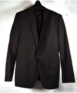 D&G Dolce & Gabbana Mens Brad Black Wool One Button Tuxedo Blazer Jacket 52 - $178.20