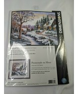 Dimensions Counted Cross Stitch Kit 13691 Winter Outing - $25.95