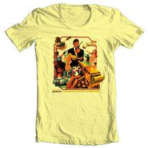 James Bond The Man Golden Gun T shirt 1970's movie retro 007 cotton graphic tee image 3