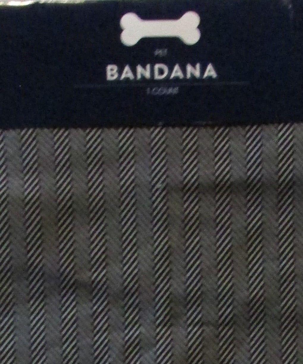 Pet Winter Coat/Jacket,  Hat, & 2X Bandanna  Multi-Color Sz Medium NWT Set