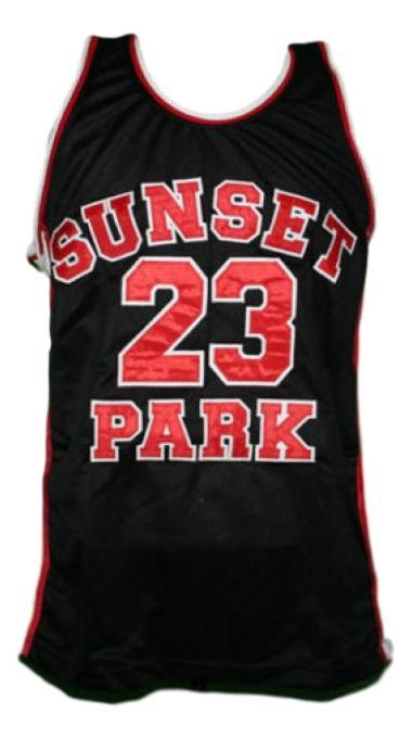 Busy bee  23  sunset park movie basketball jersey black   1